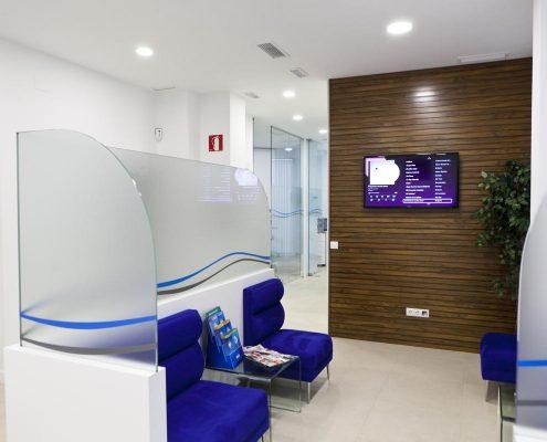 sala de espera de dentista en madrid