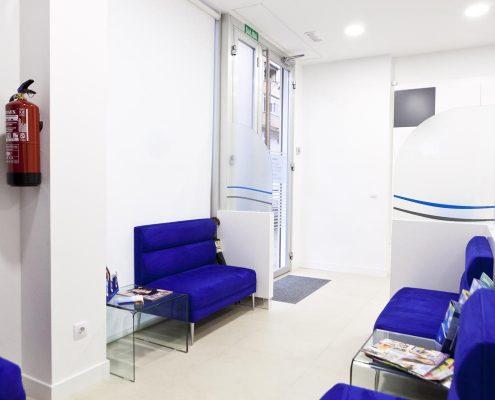 sala de espera en clinica dental