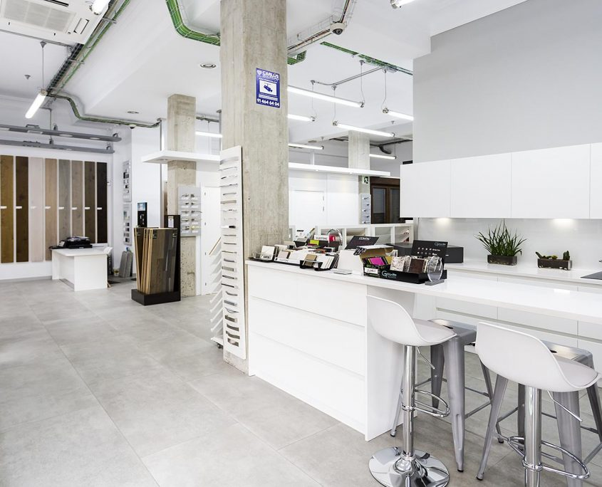 Showroom cocinas en Madrid