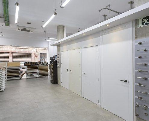 Showroom de puertas en Madrid