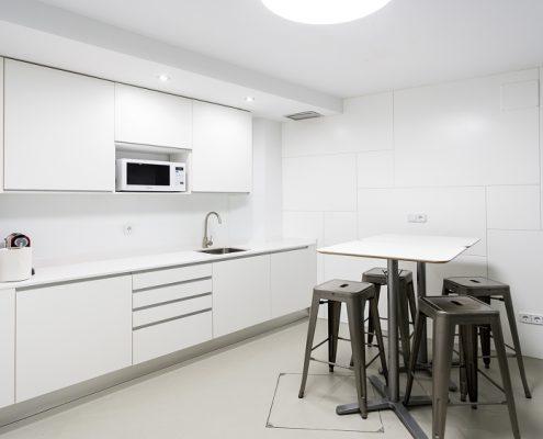 Reforma de cocina para oficina en Madrid