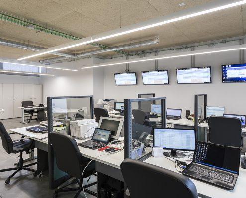 Oficinas modernas en Madrid