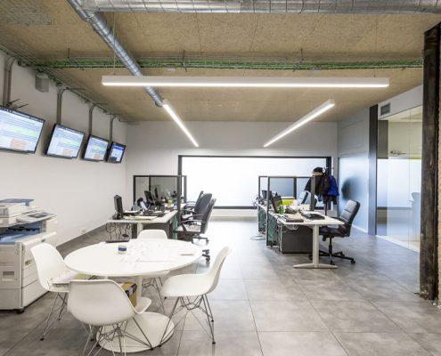 Reforma de oficina en Madrid