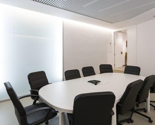 Sala de reuniones Tecnimart Comunicaciones