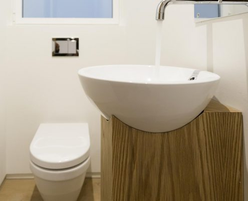 obras y reformas de lavabo