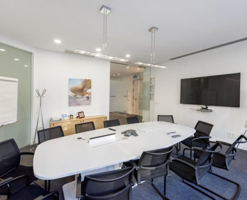 sala de reuniones oficina