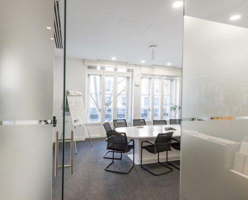 sala de reuniones reformado