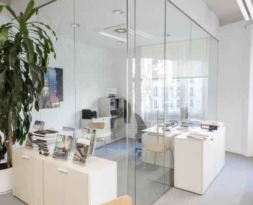 despacho de oficina reformado