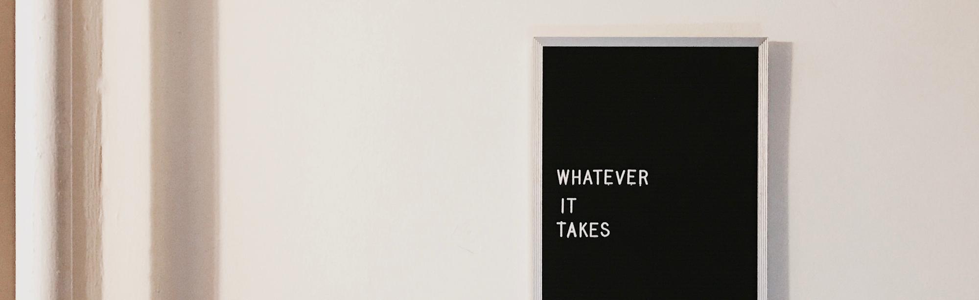texto whatever it takes