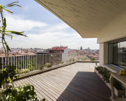 reforma de terraza en madrid