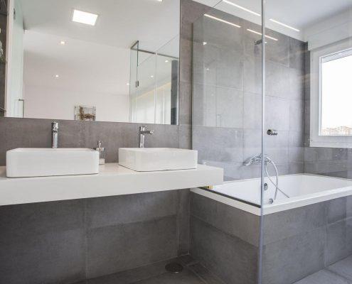 Reforma de baño en la Moraleja
