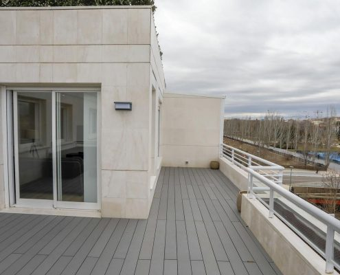 Reforma terraza en la Moraleja