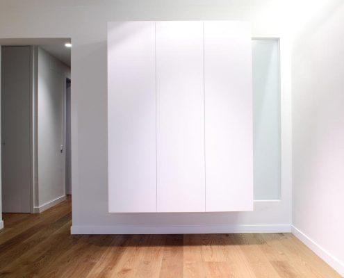 armario sin cerramiento