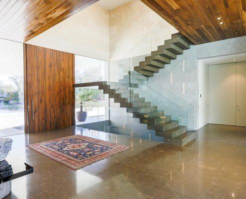 reforma de escalera marmol