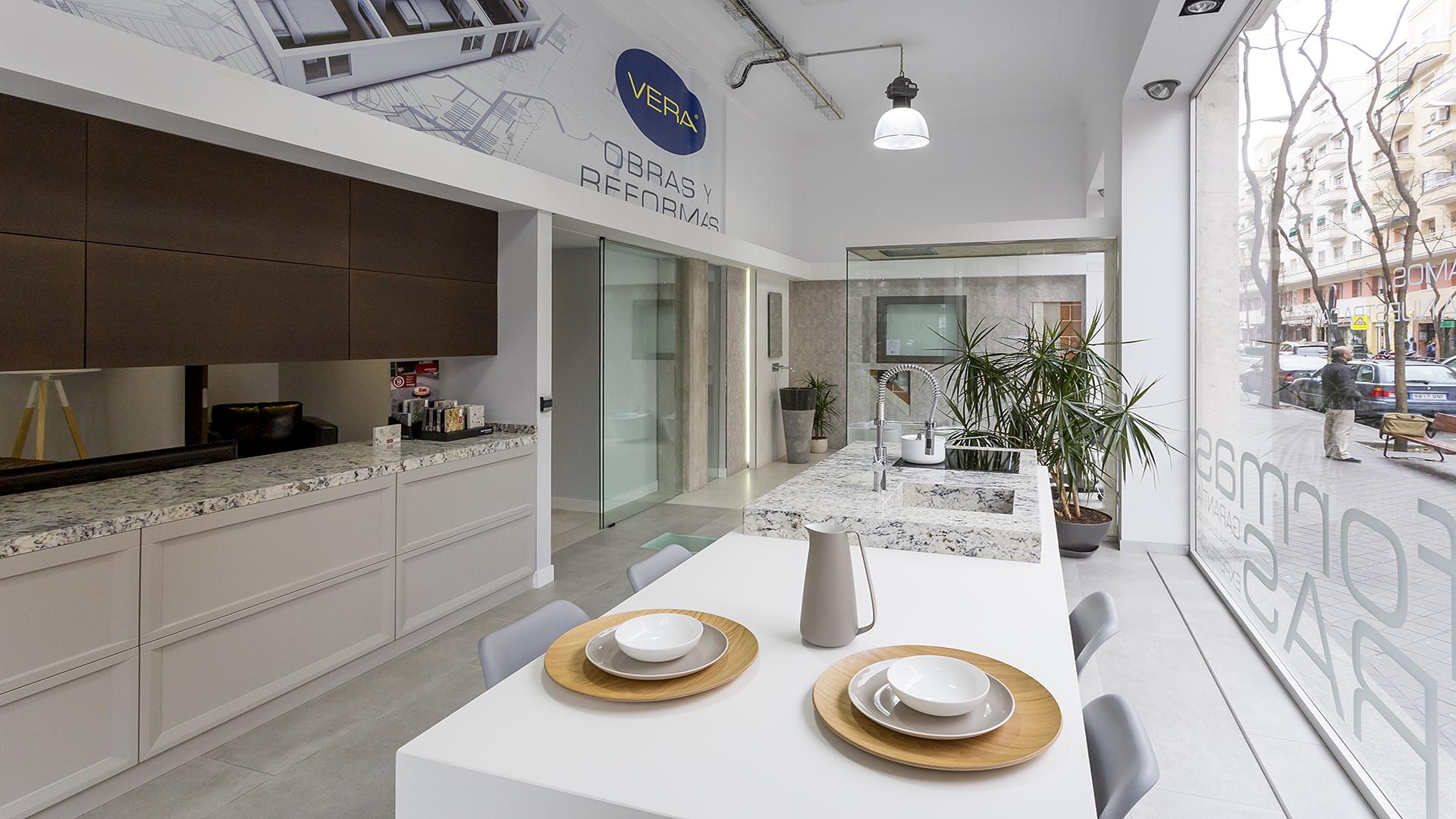 Showroom cocina reformas Vera