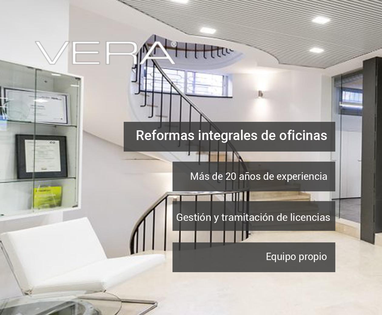 Reforma de oficinas en Madrid